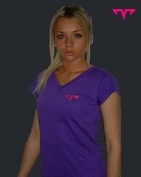 T-Shirt Femme DARK MT4 Violet